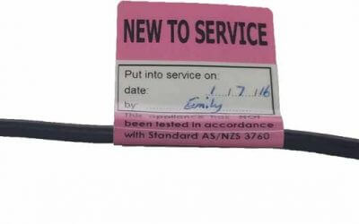 How to use New to Service Tags