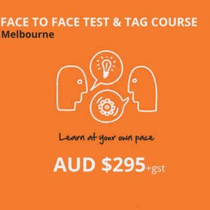 face to face test and tag course melbourne