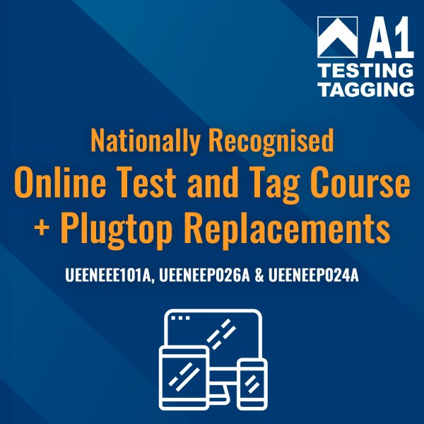 online test and tag course + plugtop